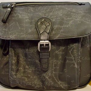 patricia nash Essone Crossbody SIGNATURE MAP